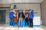 One Sunny Day In Weicheng Shaft Factory A Warm Visiting From Our Spanish Customers