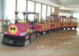 mini trackless train