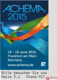 Thenow Ready to be in ACHEMA 2015