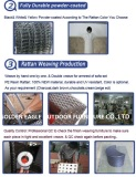 aluminum and weaving for furniture