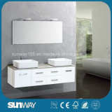 2015 New Modern Double Sink Bathroom Vanity with mirror