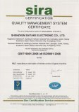 QUALITY MANAGEMENT SYSTEM CERFIFICATE