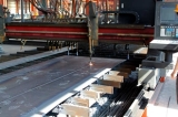 cutting machine of steel structure workshop factory