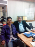 client visiting us for cable manufacturing machine