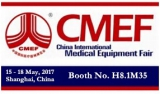 Join Us at CMEF 2017 in Shanghai