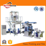 on line printing film blowing machine