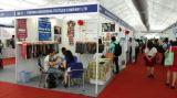 Textile clothing exhibition