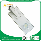 15W Integrated solar street light with CE EMC IEC ROHS IES certificate