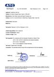 EN71-3 certifiate of face paint
