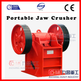 small portable jaw crusher