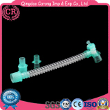 Anesthesia Breathing Circuit Smoothbore of Plastic Material