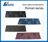 Colorful Stone Coated Metal Roof Tile for Building Material