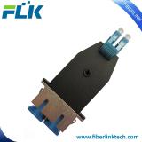 LC Male to SC Female MM OM3 Duplex Hybrid adapter