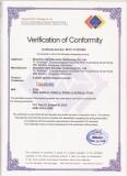 Certificate of FCC