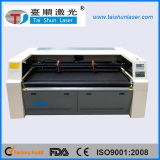 CO2 laser cutting machine with conveyor working talbe machine