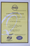 Certificate of ISO 9001:2008