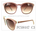 Brown woody color sunglasses