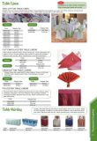 Table Linen/Table Cloth/Table Runner-P46