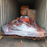 Trailer Small Concrete Pump with Mixer Loading Container