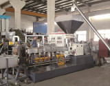 TSSK twin screw extruder for plastic mixing, compounding and modification