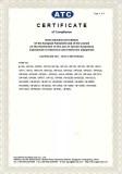 RoHs Certificate-