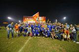 AMAHA sponsored football team get the winner