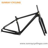Sunray Cycling 26er Full Carbon Fatbike Frame Mountain Bike Frame