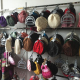 Knitted Hat And Beret Display