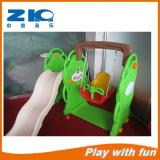 children inddor playground plastic slide wiht swing on sell