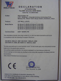 CE Certificate for Wall light