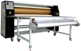 large roller heat transfer machine