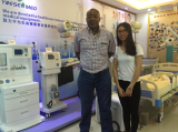 Paula met Namibia customer on X-ray room items