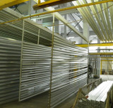 aluminium profiles with surface treatment