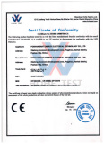 CE of High voltage solar controller