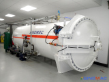 To New Zealand: 1500x3000mm Composite Autoclave in 2014