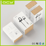 Kraft box inside,QY11 sport earphones packaging