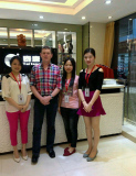 Customer Visit Taitang Furniture from all over the world