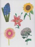 Woven Flower Label