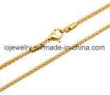 18K gold plating chain necklace