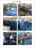 Manufacture line for conveyor rollers