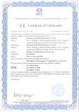 CE certificate of LW power star inverters(EMC)