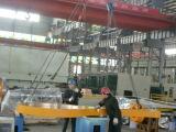 1000ton cnc four points press is under assembling