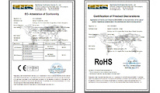 CE/ROHS Certificate of LED moving head light