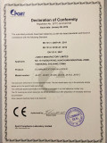 3 SECTION LADDER CERTIFICATE