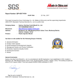 SGS certified factory