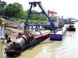 dredger exporting