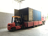 3. Load goods to container