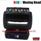 2016Newest 16pcs 25W RGBW 4in1 LED 360degrees phantom Roller Beam Moving Head light