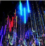 LED Meteor Shower Rain and led string Lights for 2014 christmas light show
