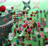 Hand Crochet Flowers Display
